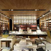 100平米简约风格书店设计装修效果图