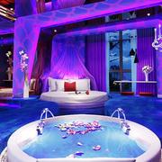 欧式风格精美情侣酒店装修效果图