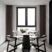 精致素雅新中式风格餐厅设计装修图