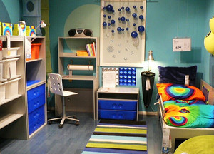 时尚创意简约风格儿童房装修效果图