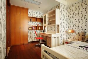 现代简约风格舒适儿童房卧室装修效果图
