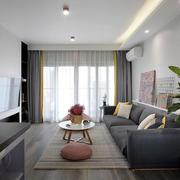 简单舒适简约风格客厅设计装修效果图