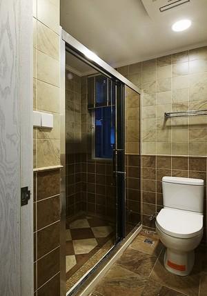 精美复古美式风格三室两厅室内设计装修图