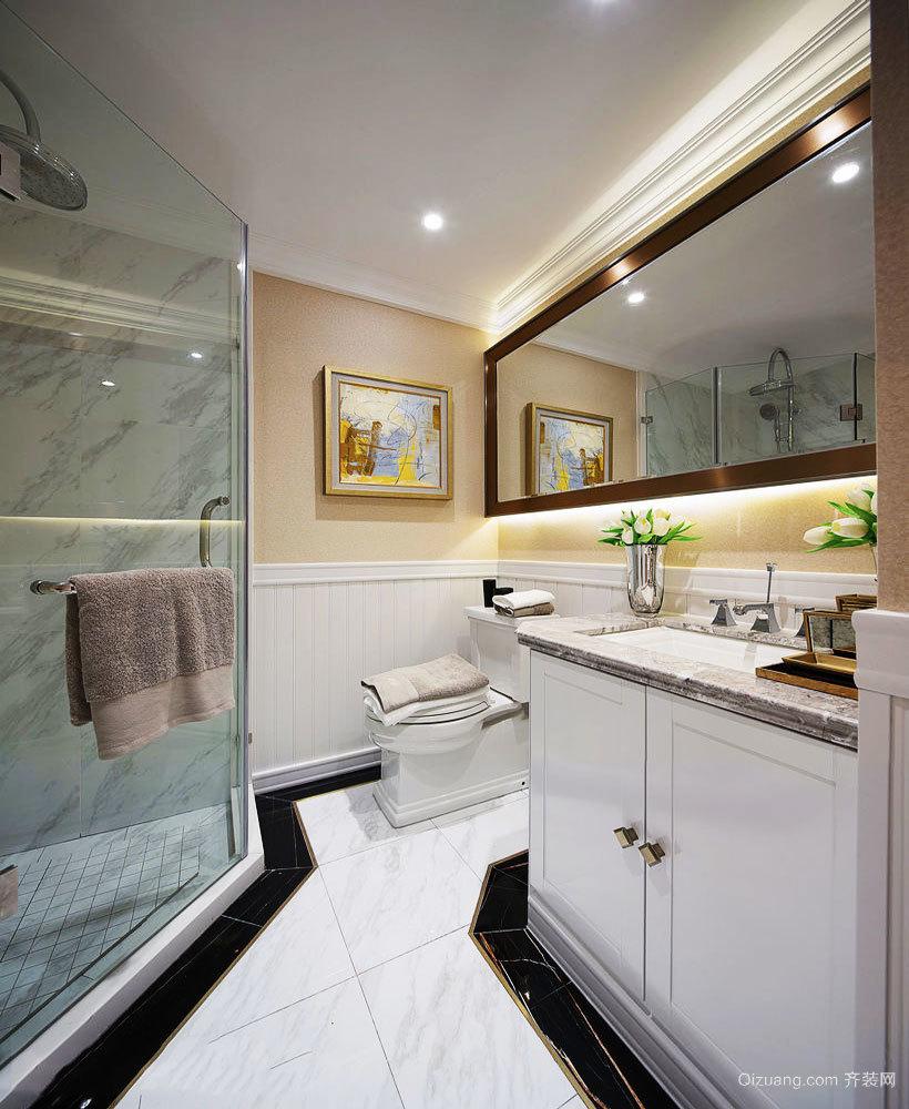 简约实用美观小户型卫生间淋浴房装修图