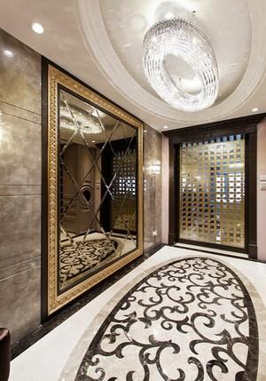 白色高贵典雅新古典主义风格大户型室内装修效果图