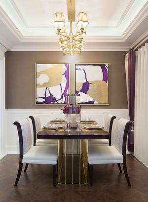 精美典雅新古典主义风格餐厅设计装修图