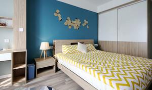清新舒适宜家风格小户型卧室装修效果图