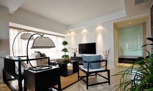雅韵别致中式风格90平米室内设计装修图
