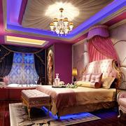 欧式风格奢华精美酒店客房装修图
