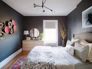 后现代风格精美卧室设计装修效果图