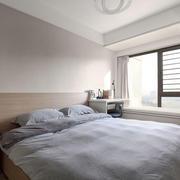 简单舒适简约风格卧室飘窗装修效果图