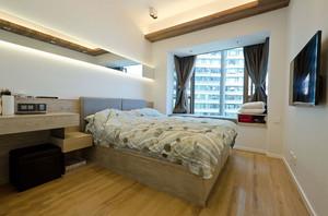 20平米简约风格温馨卧室装修效果图