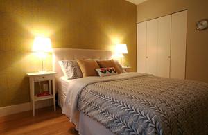 61平米现代简约风格一居室室内装修效果图