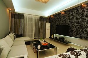 现代简约风格温馨客厅沙发装修效果图大全