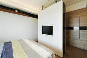 现代简约风格123平米三室两厅室内设计装修图