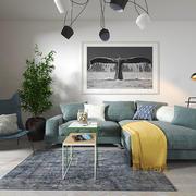 简单简约风格小户型客厅设计装修图