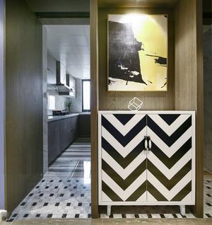 时尚现代风格玄关鞋柜设计装修效果图