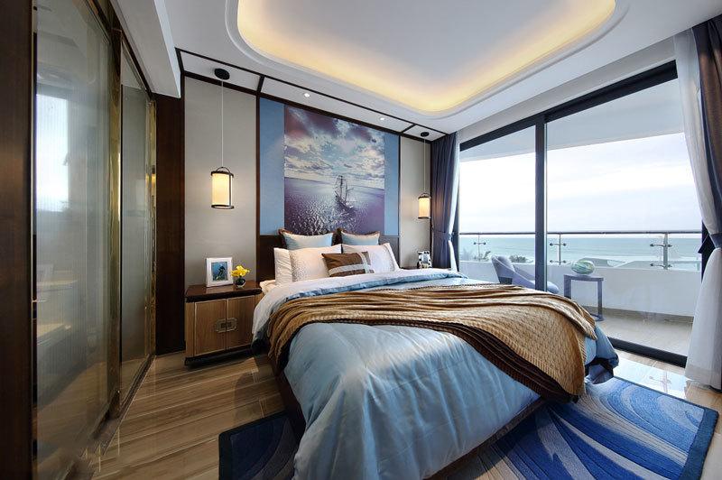 精致新古典主义风格卧室装修效果图
