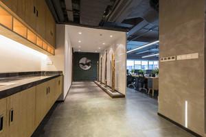 100平米现代风格办公室装修图