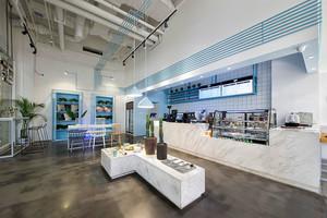 现代简约风格精美咖啡厅设计装修图
