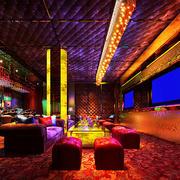 后现代风格个性时尚音乐酒吧装修图