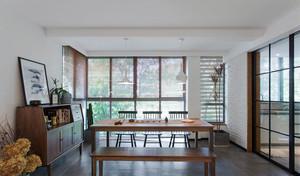 新中式风格简单禅意餐厅设计装修图