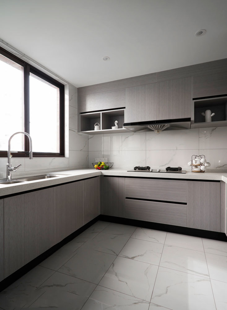 10平米现代风格厨房设计装修效果图