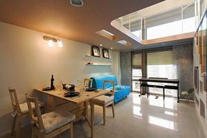 32平米简约风格温馨loft设计装修图