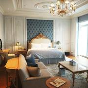 高雅精美欧式风格别墅卧室装修效果图