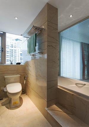 现代风格卫生间隔断墙设计装修效果图