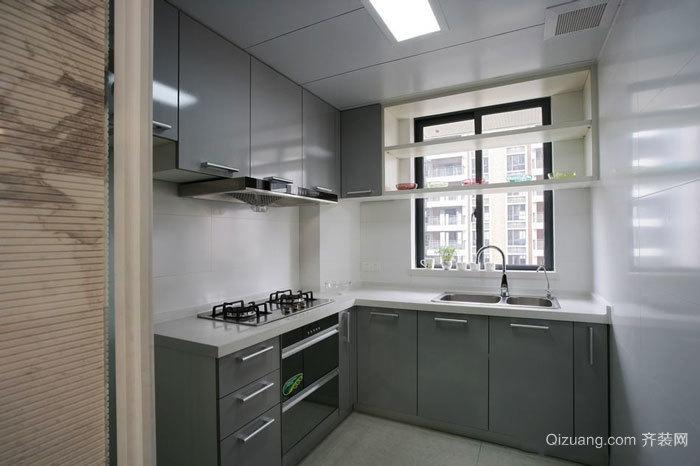 4平米简约风格小户型厨房设计装修效果图