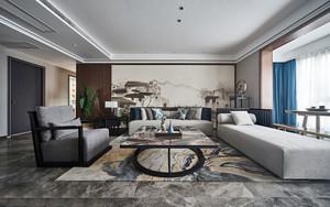 中式风格古典精美客厅设计装修效果图