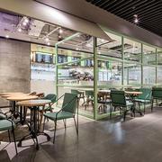 时尚现代风格餐厅设计装修效果图