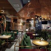 乡村风格主题餐厅设计装修效果图