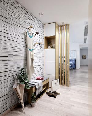 自然舒适北欧风格80平米室内装修效果图