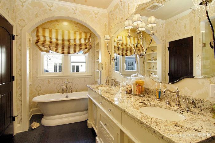 精美奢华欧式风格卫生间装修效果图
