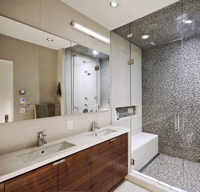 简约风格实用卫生间淋浴房设计装修图