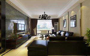 现代风格精致90平米室内设计装修图