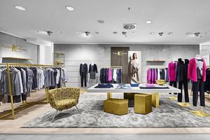 70平米现代精美服装店装修效果图