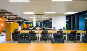 现代风格97平米办公室设计装修效果图