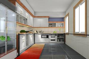 现代风格精美厨房设计装修效果图