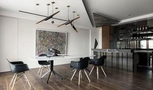 时尚创意现代风格餐厅吊灯装修效果图