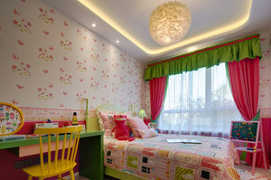 欧式风格活泼时尚儿童房装修效果图