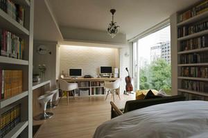 46平米田园风格温馨公寓设计装修效果图