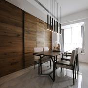 简单时尚现代风格餐厅吊灯设计装修图