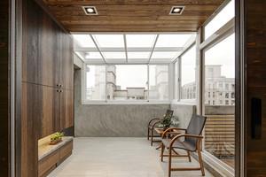 古典精致新中式风格复式楼室内装修效果图