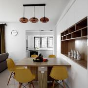 简约温馨宜家风格餐厅设计装修效果图