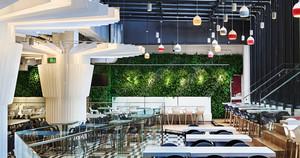 现代简约风格时尚餐厅设计装修图