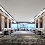 现代风格精美会议室设计装修效果图