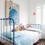 北欧风格浅色温馨儿童房设计装修图